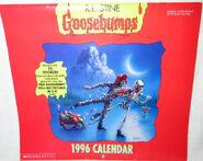 1996 wall calendar cover