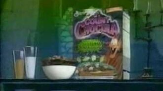 Goosebumps Series 2000 Count Chocula Ad
