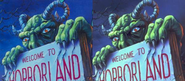 Horrorland colors