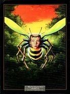 17 Afraid of Bees Lithograph