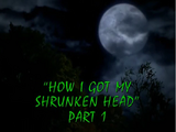 How I Got My Shrunken Head/TV episode
