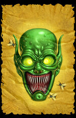 Goosebumps Wanted; The Haunted Mask (Full Art)