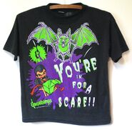 Slappy bat in for a Scare 1997 T-shirt