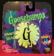 G-splat Haunted Eraser in pkg