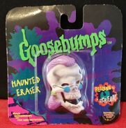 Curly Haunted Eraser in pkg