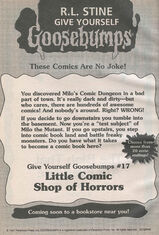 GYG 17 Little Comic Shop Horrors from OS54 1stpr 1997