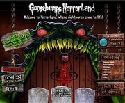 Enter Horrorland website
