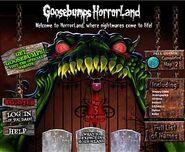 Enter Horrorland website