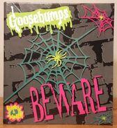 Beware grey spiderweb 1995 binder Hap Exp front