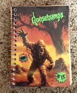 15 Mud Monster mini notebook