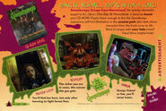 Escape from Horrorland game ad Fox Kids Mag Winter 1996