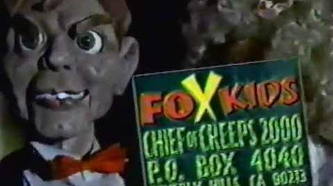 Fox Kids Chief of Creeps 2000 Sweepstakes (Goosebumps)