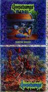 Goosebumps 49 Vampire Breath metallic stickers