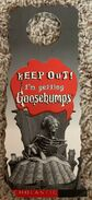 Curly Keep Out promo doorknob hanger front