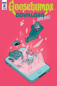 Download and Die! - Issue 2 (Variant B)