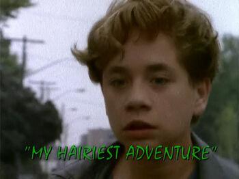 my hairiest adventure tv episode goosebumps wiki