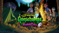 Goosebumps Horrortown Welcome to Camp Nightmare Event loading screen art