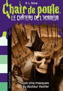 The Five Masks of Dr. Screem Special Edition - French Cover - Les cinq masques du docteur Vocifer