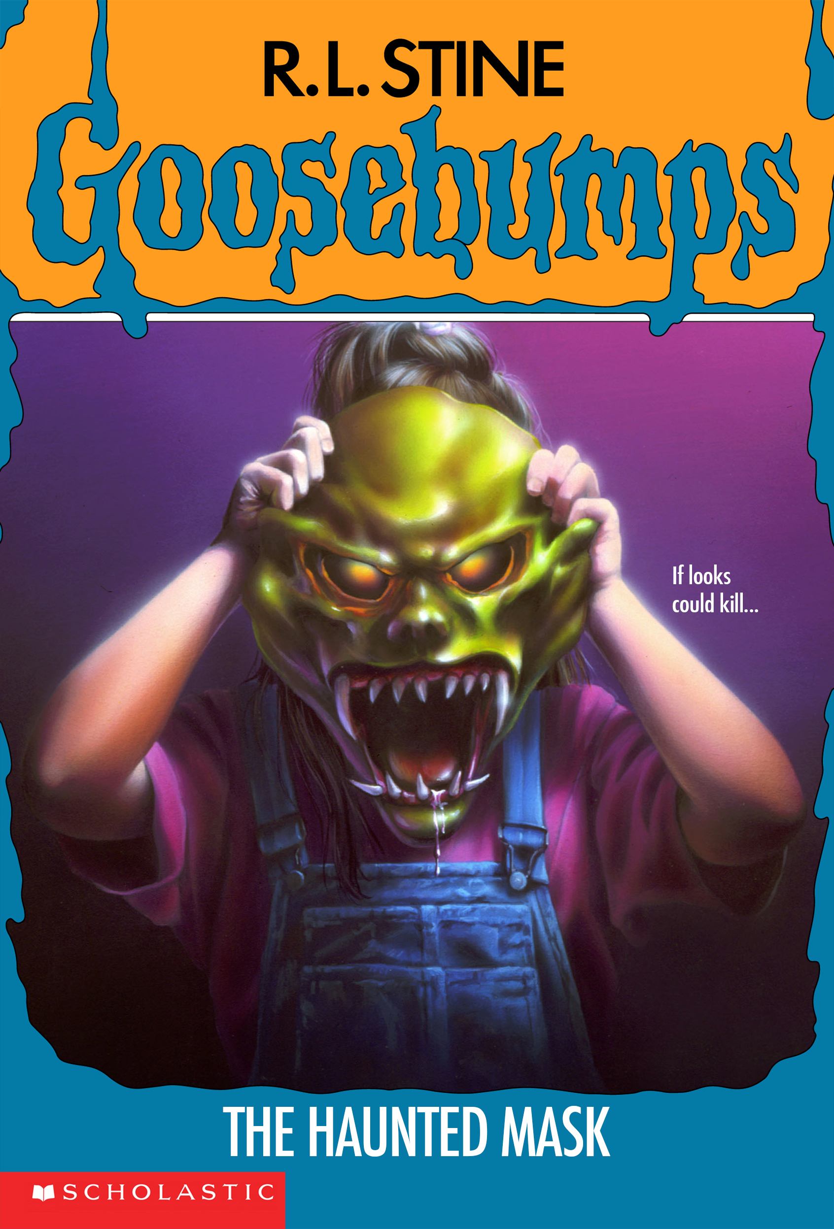 The Haunted Mask Book Goosebumps Wiki Fandom Powered By Wikia