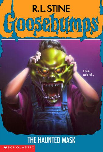 Goosebumps Book Cover Art : The haunted mask book goosebumps wiki fandom powered