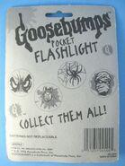 Pocket Flashlight packaging back
