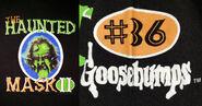 36 Haunted Mask II circleborder bonefont TC T-shirt f+s detail