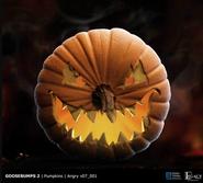 Goosebumps 2 angry pumpkin
