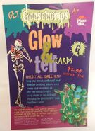 PIzza Hut 1997 Table Tent Glow and Tell Cards
