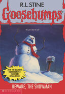 OS 51 Beware the Snowman cover 1stprint (no stk version)