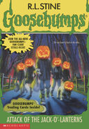 OS 48 Attack Jack o Lanterns cover 1stprint w trading cards (no stk version)