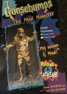 Mud Monster Costume Packaging front
