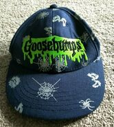 1997 GB logo spiderweb eyes black cap hat