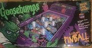 Horrorland Electronic Pinball Game box front