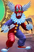 Goosebumps HorrorTown Male Clown