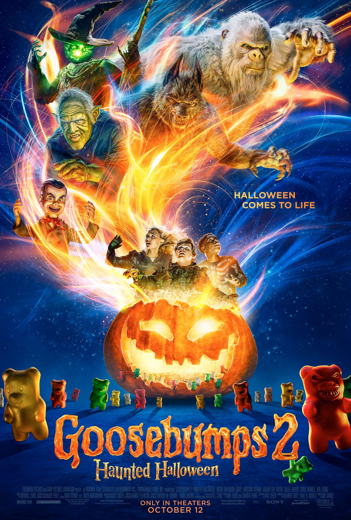 Madisons Headless Snowman As Big As >> Goosebumps 2 Haunted Halloween Goosebumps Wiki Fandom Powered