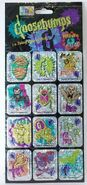 12 Holographic Stickers in pkg