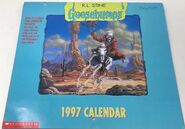 1997 wall calendar cover