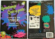 9 Glow in Dark Sticker Pack 2 f+b