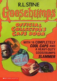 Goosebumps Official Collector's Caps Book