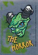 6 Horror Topps Foil Sticker