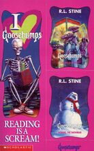 Goosebumps 50 Calling All Creeps Bookmark 2 Trading Cards front