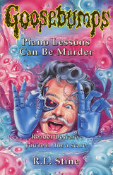 12 (13 US) Piano Lessons Can Be Murder UK cover