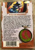 41 Bad Hare Day Hologram necklace back