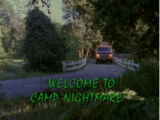 Welcome to Camp Nightmare/TV episode