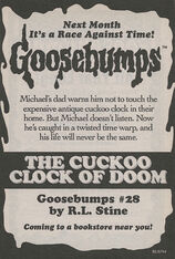 OS 28 The Cuckoo Clock of Doom bookad from OS27