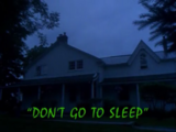 Don't Go to Sleep!/TV episode
