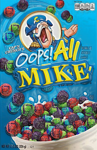<small>Cereal Box Appearance</small>