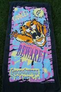 Cuddles Beware Beach Towel Jay Franco