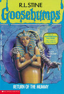 OS 23 Return of the Mummy cover w Fan Club ad