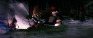 Goosebumps (film) - Gnomes opening a book